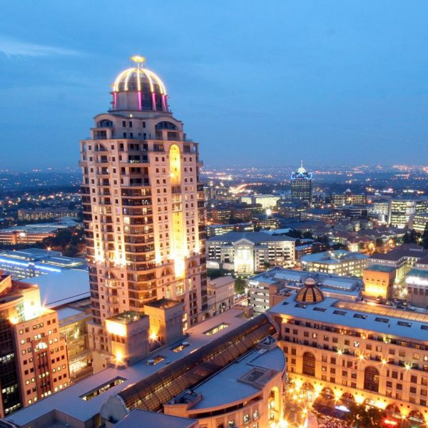 Arial View of Sandton